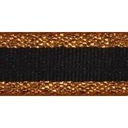 Ruban winter stripe copper 10mm - 101