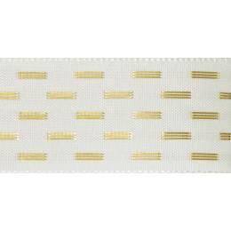Ruban shimmer stitch bridal blanc 15mm - 101