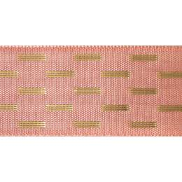 Ruban shimmer stitch rose or 15mm - 101