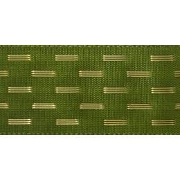 Ruban shimmer stitch cypress 15mm - 101