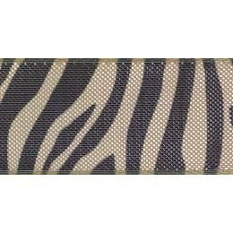 Ruban zebra stripe or/black25mm - 101