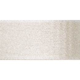 Ruban glitter satin blanc 15mm - 101