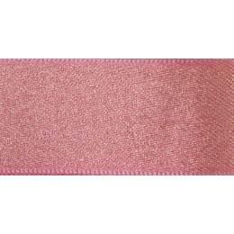 Ruban glitter satin rose or 15mm - 101