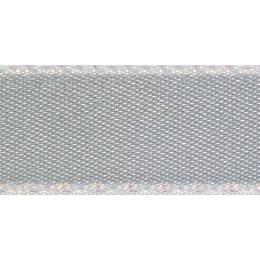 Ruban iridescent satin argent grey 5mm - 101