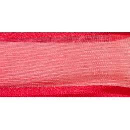 Ruban sheer elegance red 15mm - 101