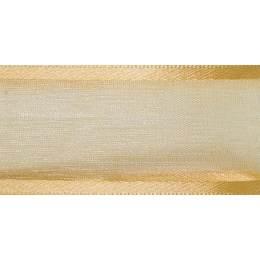 Ruban sheer elegance honey or 15mm - 101