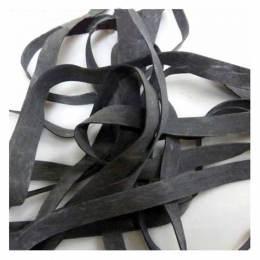 Laminette siliconée 16mm épaisseur 0,6mm noir - 104