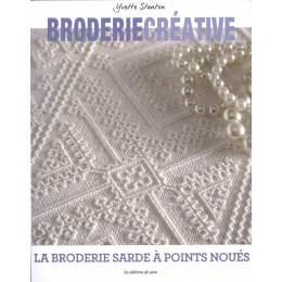 Broderie créative-la broderie sarde points noués - 105