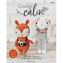 Crochet calin 12 jolies créatures & petits accesso - 105