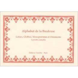 Livre alphabet de la brodeuse - 105