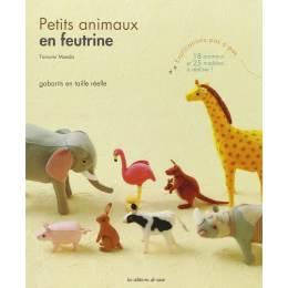 Petits animaux en feutrine - 105