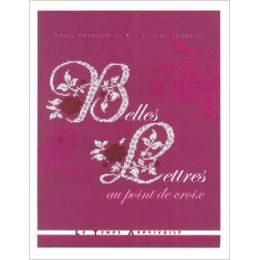Livre belles lettres au point de croix - 105