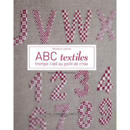 Livre abc textiles trompe-l' œil au point de croix - 105