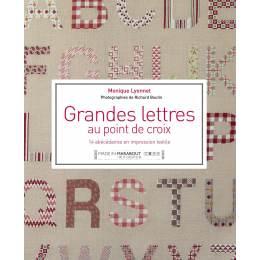 Grandes lettres au point de croix - 105