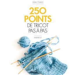 250 Points de tricot pas à pas - 105