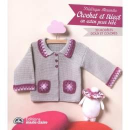Crochet et tricot en coton pour bébé - 105