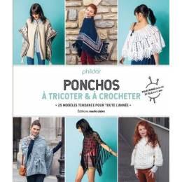 Livre Ponchos à tricoter & à crocheter - 105