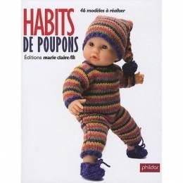 Livre Habits de poupons (réimprimé) - 105
