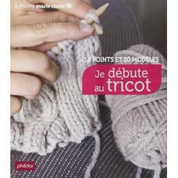 Livre Je débute au tricot - 105