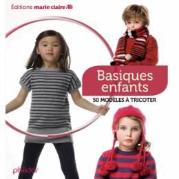 Livre Basiques enfants - 40 modèles à tricoter - 105