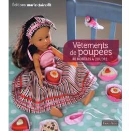 Livre Vêtements de poupées 40 modéles - 105