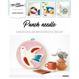 Punch needle-10 créations de broderie en relief - 105