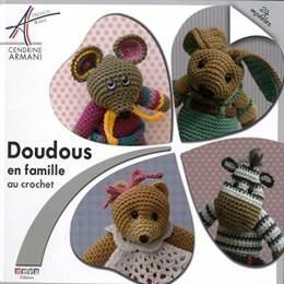 Livre Doudous en famille au crochet - 105