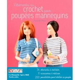 Vêtements au crochet pour poupées mannequins - 105
