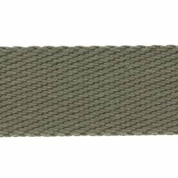 Sangle coton épaisse - kaki - 117