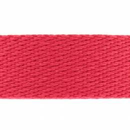 Sangle coton épaisse - rouge - 117