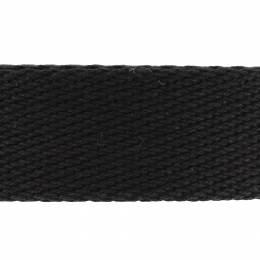 Sangle coton épaisse - noir - 117