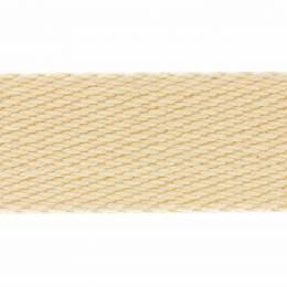 Sangle coton épaisse - sable - 117
