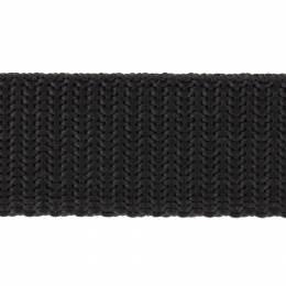 Sangle polypropylène 25mm noir - 117