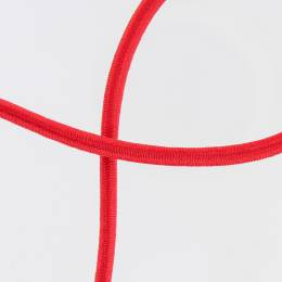 Cable élastique à transat 5mm rouge