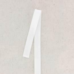 Bordure pliante fine 17mm blanc - 130