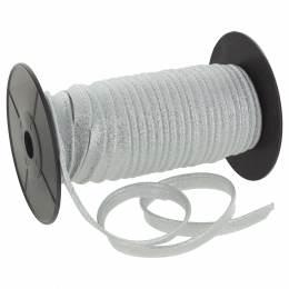 Passepoil lamé 10 mm argent - 134
