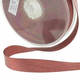 Biais lamé 40/20 rouge - 134