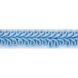 Galon ameublement bleu 12 mm - 136