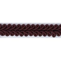 Galon ameublement rouge foncé 12 mm - 136