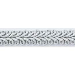 Galon ameublement gris clair 12 mm - 136