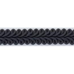 Galon ameublement gris foncé 12 mm - 136