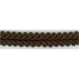 Galon ameublement marron 12 mm - 136