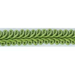 Galon ameublement vert 12 mm - 136