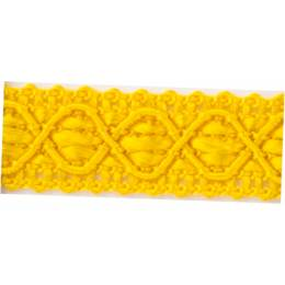 Galon ameublement jaune 12 mm - 136