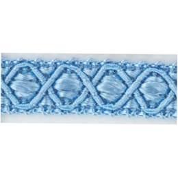 Galon ameublement bleu clair 12 mm - 136