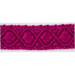 Galon ameublement rose-violet 12 mm - 136