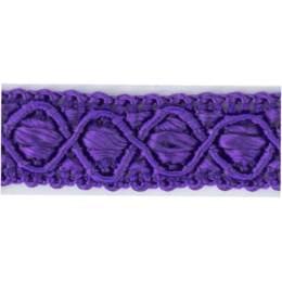 Galon ameublement violet clair 12 mm - 136
