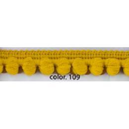 Galon pompon or 12 mm