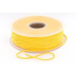 Cordon élastique super doux 2,5mm jaune