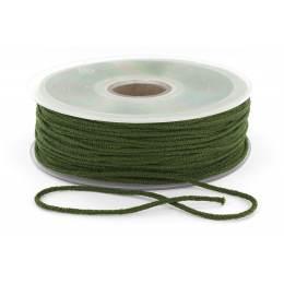 Cordon élastique super doux 2,5mm vert f